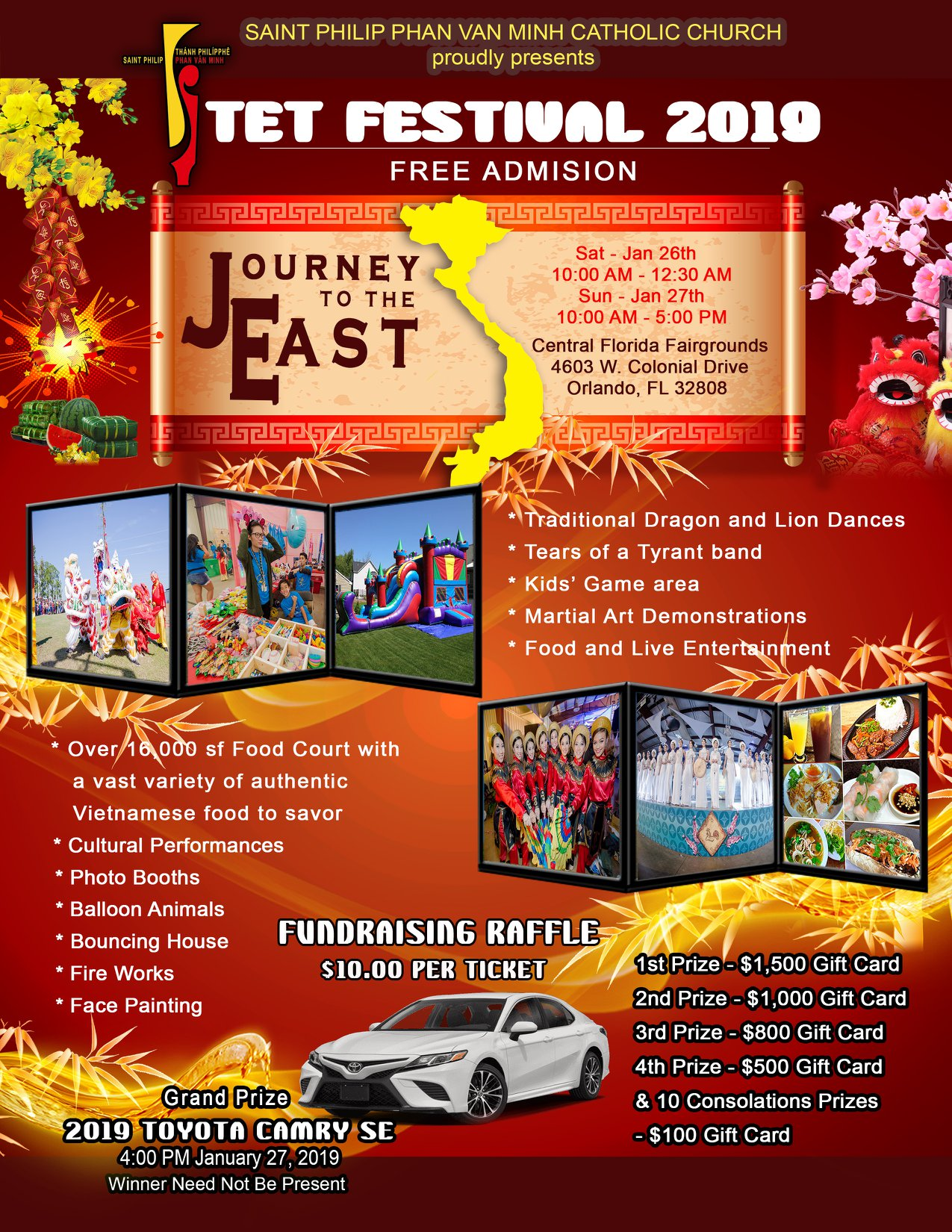Journey to the East TET Festival 2019 in Orlando FL