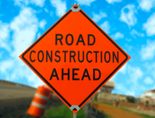 Drive Safely Through Road Construction