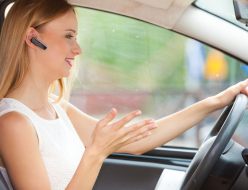 Driving and Using Hands-Free Devices