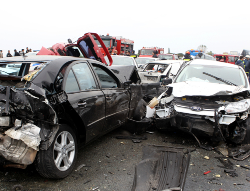 Who is Responsible in a Multi-Vehicle Accident?